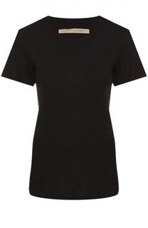 Приталенная футболка с круглым вырезом Raquel Allegra
