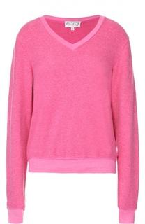 Пуловер прямого кроя с V-образным вырезом Wildfox