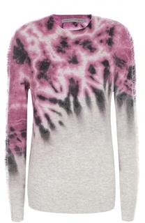 Пуловер прямого кроя с ярким принтом Raquel Allegra