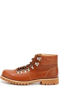 Кожаные ботинки Brugge на шнуровке Affex