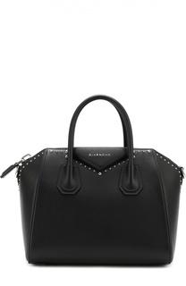 Сумка Antigona small с металлическими заклепками Givenchy