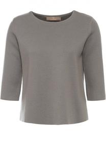 Пуловер прямого кроя с укороченным рукавом Cruciani