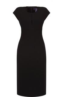 Приталенное платье без рукавов с круглым вырезом Ralph Lauren