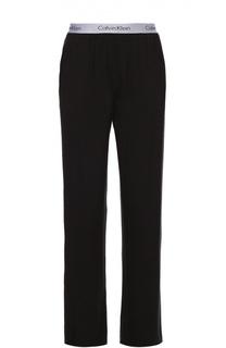 Хлопковые брюки на широкой резинке Calvin Klein