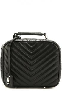 Сумка Lunch Bag из стеганой кожи Saint Laurent