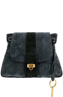 Замшевая сумка Lexa Chloé