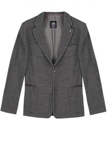 Шерстяной однобортный пиджак Dal Lago