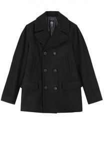 Двубортное шерстяное пальто Dal Lago
