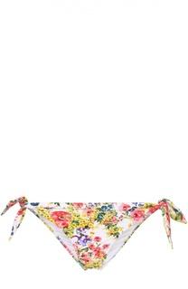 Плавки-бикини с цветочным принтом Dolce & Gabbana