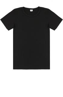 Хлопковая футболка с круглым вырезом Deha
