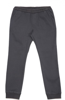 Хлопковые брюки с манжетами Giorgio Armani