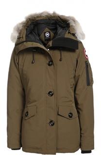 Куртка с отделкой Canada Goose