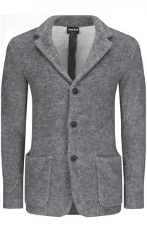 Пиджак снакладными карманами Giorgio Armani