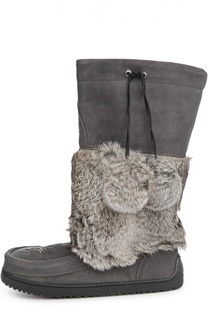 Унты Snowy Owl Mukluk с вышивкой бисером Mukluks
