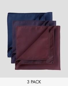 Набор из 3 платков в горошек Feraud - Мульти