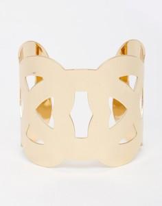 Браслет-манжета DesignB London - Золотой
