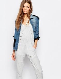 Джинсовая куртка с нашивками Vanessa Bruno Athe - Синий