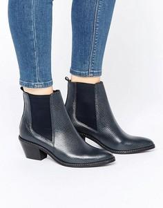 Ботинки челси в стиле вестерн H By Hudson Celeste - Темно-синий