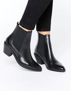 Ботинки челси в стиле вестерн H By Hudson Celeste - Черный