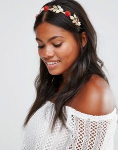 Броский обруч для волос Cara NY - Золотой