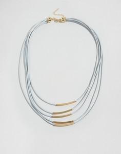 Многослойное ожерелье DesignB - Золотой