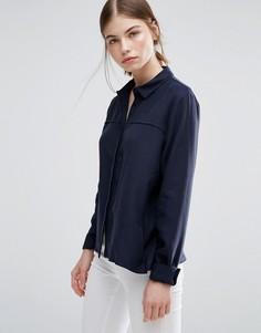 Рубашка Just Female Triba - Темно-синий