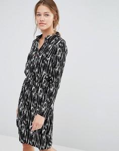 Платье-рубашка Just Female Lumina - Черный