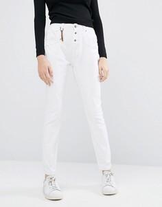Зауженные брюки антифит Vero Moda - 32 - Белый