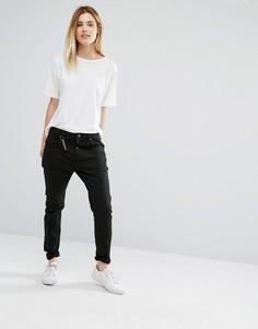 Зауженные брюки антифит Vero Moda - 32 - Черный