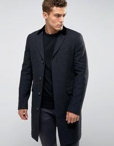 Тканое пальто Jack Wills - Черный