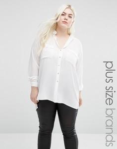 Рубашка Elvi Plus - Белый