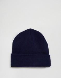 Темно-синяя шапка-бини Gregorys - Темно-синий