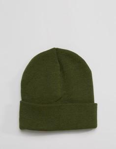 Шапка-бини цвета хаки Gregorys - Зеленый