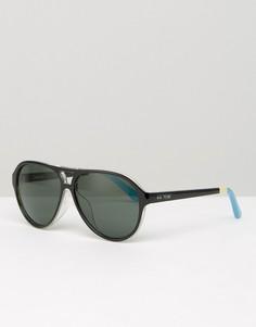 Солнцезащитные очки-маска Toms Marco - Черный