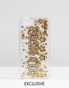 Чехол с блестками для iPhone 5/SE Skinnydip - Мульти