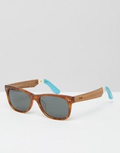 Солнцезащитные очки в квадратной оправе Toms Beachmaster - Коричневый