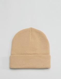 Песочная шапка-бини Gregorys - Бежевый