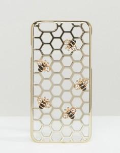 Чехол для iPhone 6/6S с отделкой в виде пчел Skinnydip - Мульти