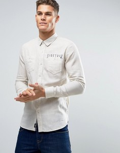 Фланелевая рубашка с начесом Firetrap - Серый