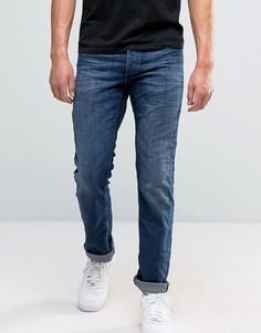 Синие джинсы классического кроя Jack and Jones - Синий