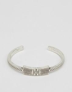 Серебристый браслет в ацтекском стиле Classics 77 - Серебряный