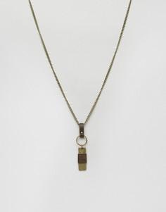 Золотистое ожерелье с подвеской Classics 77 - Золотой