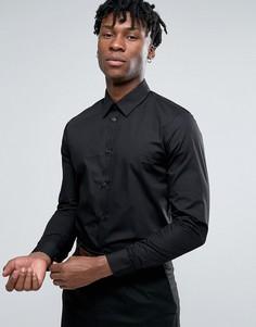 Рубашка классического кроя Casual Friday - Черный