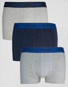 Комплект из 3 боксеров Ben Sherman - Темно-синий