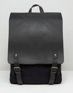 Черный кожаный рюкзак Forbes & Lewis Devon - Черный
