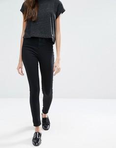 Супероблегающие джинсы с завышенной талией Jack Will Fernhman - Черный