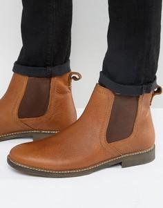 Бежевые кожаные ботинки челси Red Tape - Бежевый