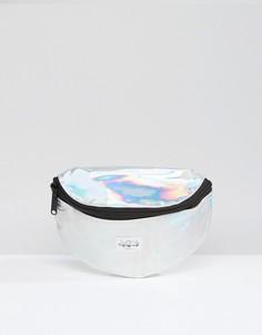 Серебристая сумка-пояс Spiral Rave - Серебряный