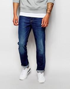 Узкие джинсы слим New Look - Синий