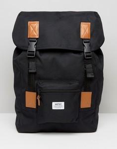 Однотонный рюкзак Wesc Rhody - Черный